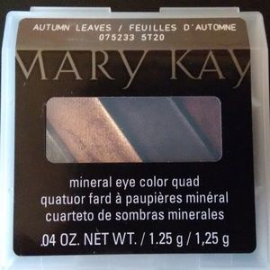 AUTUM LEAVES MARY KAY MINERAL EYE COLOR QUAD